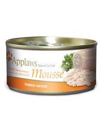 Cat Mousse Tin 70g Chicken karma mokra dla kota z kurczakiem