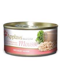 Cat Mousse Tin 70 g Salmon karma mokra dla kota z łososiem