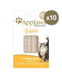 Cat Treat Chicken Puree 10 x (8 x 7g) przysmak dla kota kurczak