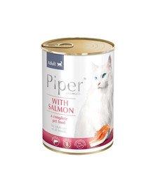 PIPER Animals z łososiem 400 g mokra karma dla kota