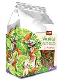 Vita Herbal mieszanka uzupełniająca dla gryzoni i królika Ziele owsa z marchewką 150 g