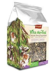Vita Herbal Chleb świętojański dla gryzoni i królika 170 g
