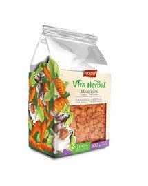 Vita Herbal Marchew suszona dla gryzoni i królika 100 g