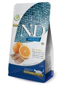 N&D Ocean Cat Neutered Adult Herring & Orange 300 g śledź i pomarańcza dla kastratów