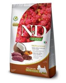 N&D Quinoa Dog Skin&Coat Adult Mini venison, coconut 2.5 kg jeleń i kokos