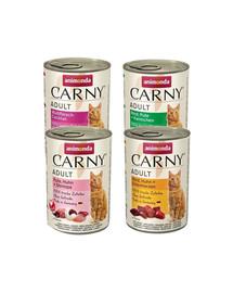 ANIMONDA Carny mix smaków 4 x 400 g