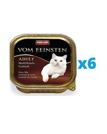 ANIMONDA Vom Feinsten Classic zestaw multi koktajl mięsny 6 x 100 g