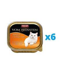 ANIMONDA Vom Feinsten Classic zestaw z drobiem i cielęciną 6 x 100 g