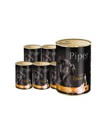 DOLINA NOTECI PIPER z przepiórką mokra karma dla dorosłych psów 12x800 g
