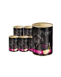 DOLINA NOTECI PIPER z żołądkami wołowymi mokra karma dla dorosłych psów 12x800 g