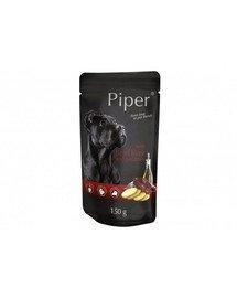 PIPER z wątrobą wołową i ziemniakami 150 g mokra karma dla dorosłych psów