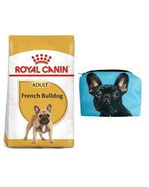 ROYAL CANIN French Bulldog adult 9 kg + Kosmetyczka piórnik materiałowy