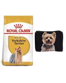 ROYAL CANIN Yorkshire Terrier Adult 7.5 kg + Kosmetyczka piórnik materiałowy