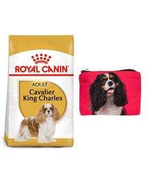 ROYAL CANIN Cavalier King Charles Spaniel Adult 7,5 kg + Kosmetyczka piórnik materiałowy
