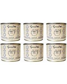 GUSSTO Cat Fresh Lamb mokra karma dla kotów jagnięcina 6x200 g