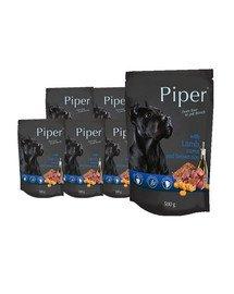DOLINA NOTECI PIPER z jagnięciną, marchewką i brązowym ryżem mokra karma dla dorosłych psów 10x500 g