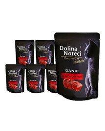 DOLINA NOTECI Premium Danie z wołowiny dla kotów sterylizowanych 10x85 g