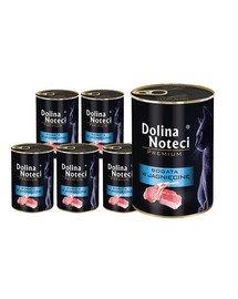 DOLINA NOTECI Premium Bogata w jagnięcinę dla kotów dorosłych 12x400 g