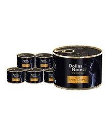 DOLINA NOTECI Premium filet z piersi kurczaka karma mokra dla kota 12x185 g
