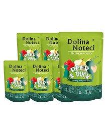 DOLINA NOTECI SuperFood Jeleń i kaczka 10x300 g