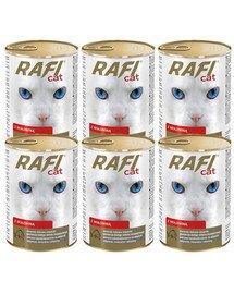 DOLINA NOTECI Rafi Adult Wołowina Mokra karma dla kota 6x415 g