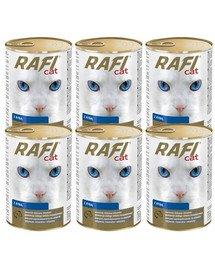 DOLINA NOTECI Rafi Adult Ryby Mokra karma dla kota 6x415 g