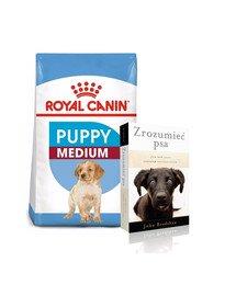 ROYAL CANIN Medium Puppy 30 kg (2 x 15 kg) karma sucha dla szczeniąt, od 2 do 12 miesiąca, ras średnich + książka GRATIS