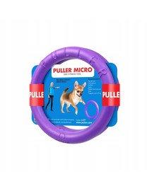 Micro dog training device ring dla psów ras miniaturowych, 13 cm, 2szt.