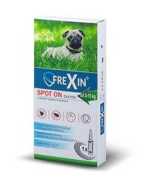 Krople przeciw ektopasożytom dla psa 5-15 kg 1,5 ml