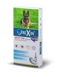 Krople przeciw ektopasożytom dla psa powyżej 15 kg 1,8 ml