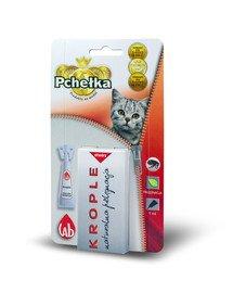 Krople przeciw ektopasożytom dla kota 1.0 ml
