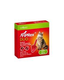 Fiprex Duo Preparat na kleszcze i pchły dla kotów i fretek
