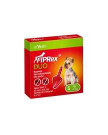 Fiprex Duo S Preparat na kleszcze i pchły dla psa rasy małe