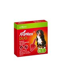 Fiprex Duo XL Preparat na kleszcze i pchły dla psa rasy bardzo duże