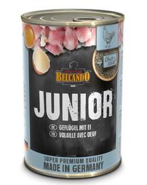 Junior kurczak+jajko 400 g