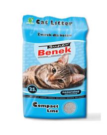 BENEK Super Compact naturalny 25 l x 2 (50 l)
