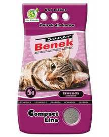 BENEK Super Compact lawenda 5 l x 2 (10 l)