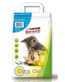 BENEK Super Corn Cat morska bryza 7 l x 2 (14 l)