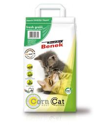 BENEK Super Corn Cat Świeża trawa 25 l x 2 (50 l)
