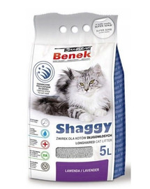 BENEK Super Shaggy lawenda 5 l x 2 (10 l)