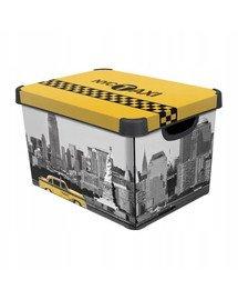 Deco Stockholm L New York City Pudełko z wieczkiem
