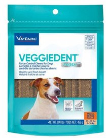 Veggiedent Fresh S (5-10 kg) gryzaki dla psa 15 szt.