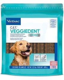 Veggiedent Fresh L (>30 kg) gryzaki dla psa 15 szt.