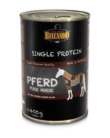 Single Protein Konina 400 g mokra karma dla psa