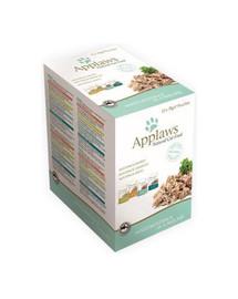 APPLAWS Cat Pouch Multipack 48x70 g karma dla kotów mix smaków w galarecie