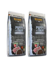 BELCANDO Finest Grain Free Puppy Poultry 25 kg (2x12.5 kg) sucha karma dla szczeniąt