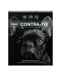 Contra-Tix Obroża owadobójcza dla małych psów 40 cm