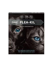 Flea-Kil Obroża owadobójcza dla średnich psów i kotów 60 cm