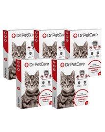 Dr PetCare MAX Biocide Collar Obroża na pchły i insekty dla kota 43 cm 5 szt.
