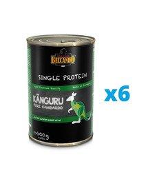 BELCANDO Single Protein Kangur 6x400 g mokra karma dla psa